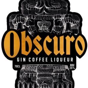 Obscuro Gin Coffee Liqueur